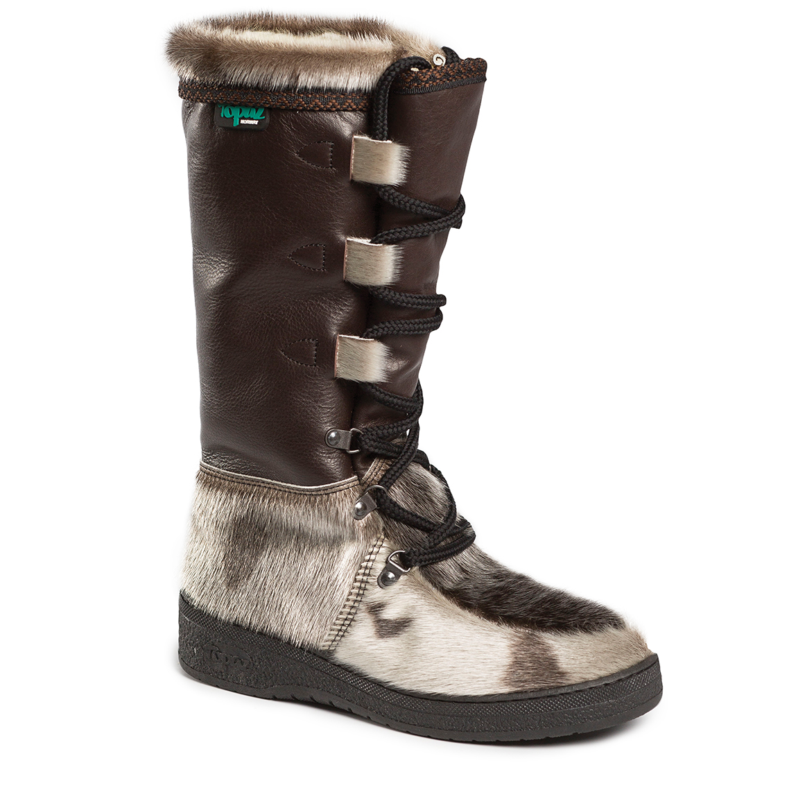Art. Polar Brown - Topaz of Norway - Winter boots and slippers